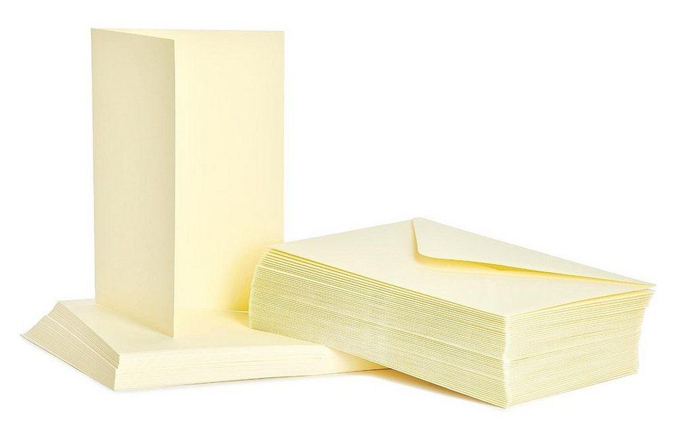 Doppelkarten mit Umschlägen, DIN A6