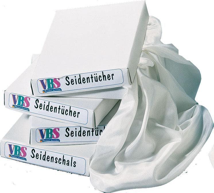 6er-Set Seidentücher, 90x90 cm, Pongé 05