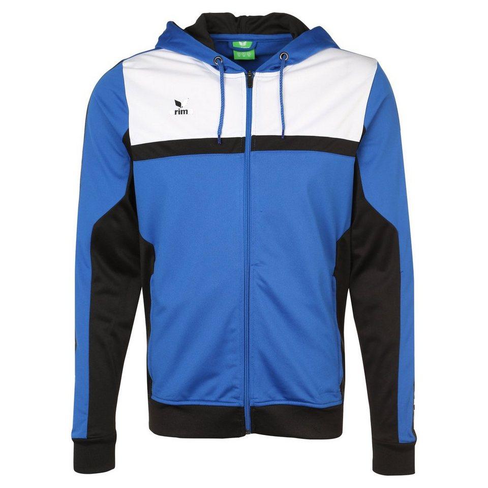ERIMA 5-CUBES Trainingsjacke mit Kapuze Herren in blau/schwarz/weiß