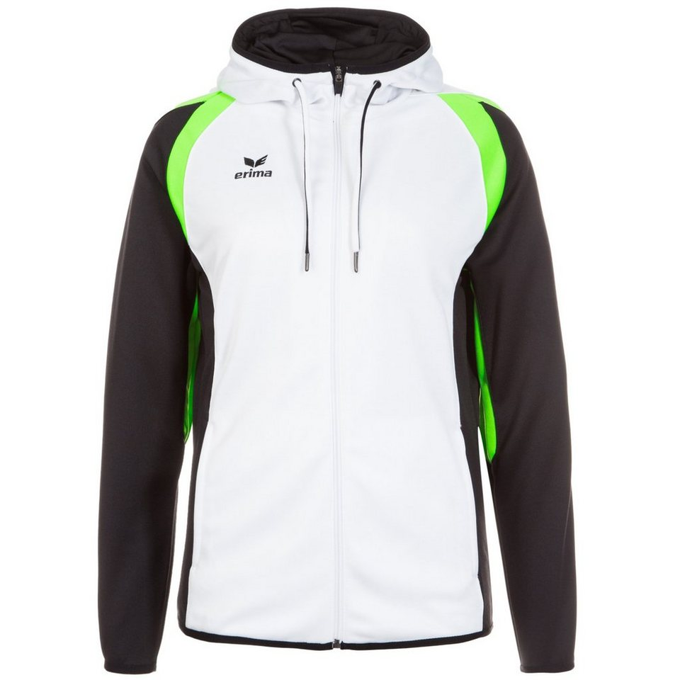 ERIMA Razor 2.0 Trainingsjacke Damen in weiß / schwarz