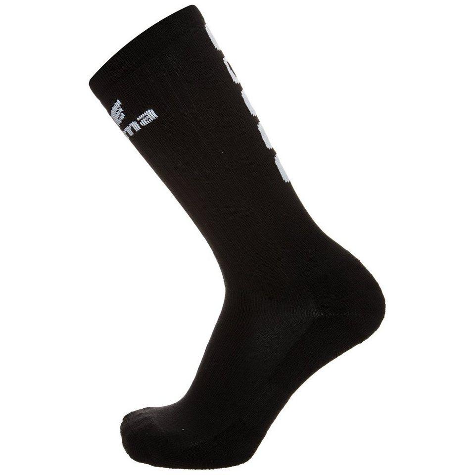 ERIMA 5-CUBES Socke lang in schwarz/weiß