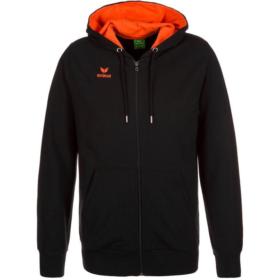 ERIMA GRAFFIC 5-C Sweatjacke Herren in schwarz/orange
