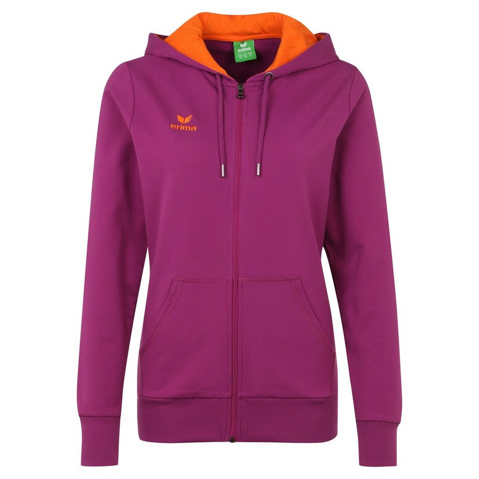ERIMA GRAFFIC 5-C Sweatjacke Damen in magenta/orange