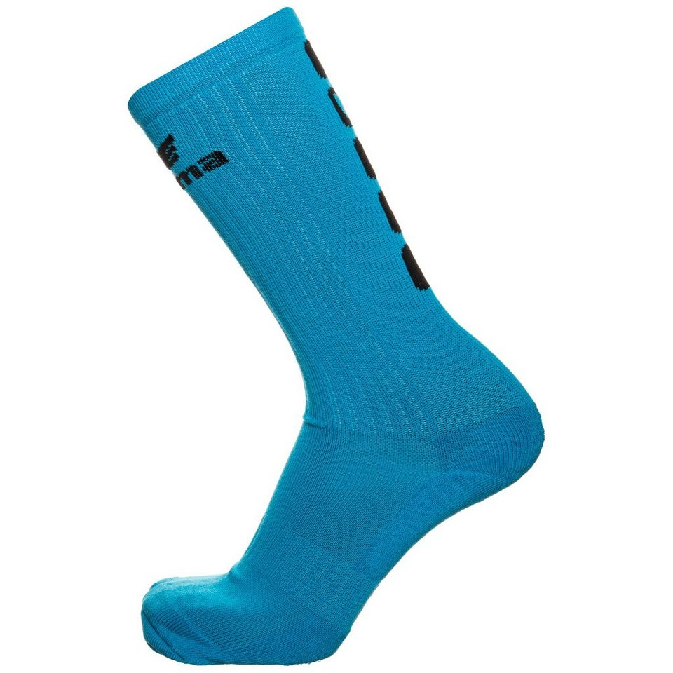 ERIMA 5-CUBES Socke lang in curacao/schwarz