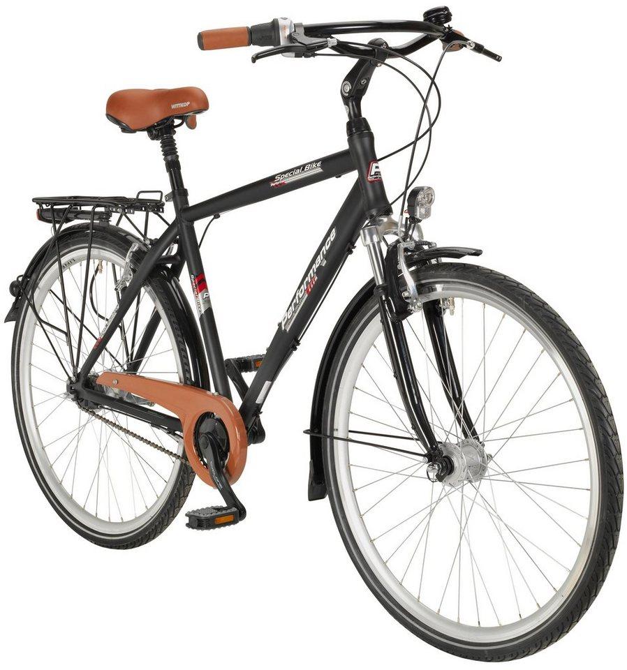 Citybike (Herren) »71,12 cm (28 Zoll)« in schwarz