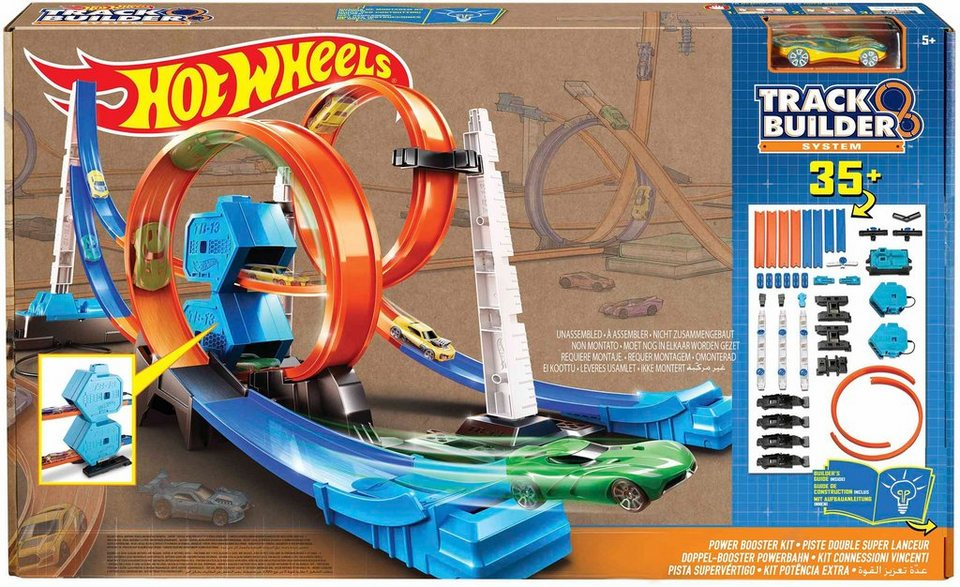 Mattel Autorennstrecke 6in1, »Hot Wheels®, Doppel Booster Powerbahn«