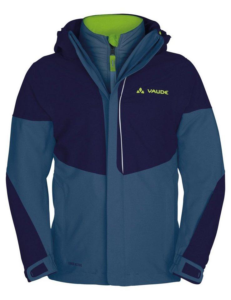 VAUDE Outdoorjacke »Suricate II 3in1 Jacket Kids« in blau