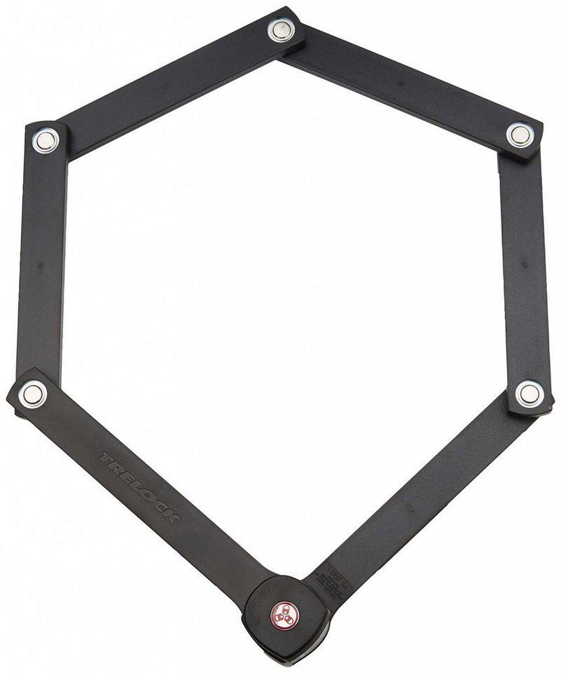 Trelock Fahrradschloss »FS 300 TRIGO L Faltschloss 100 cm«