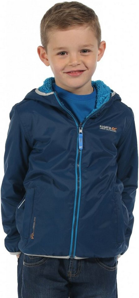 Regatta Outdoorjacke »Lagoona Rain Jacket Kids« in blau