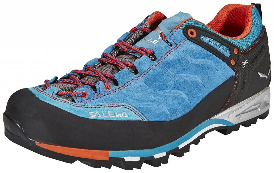 Salewa Kletterschuh »MTN Trainer Alpine Approach Shoe Men« in blau