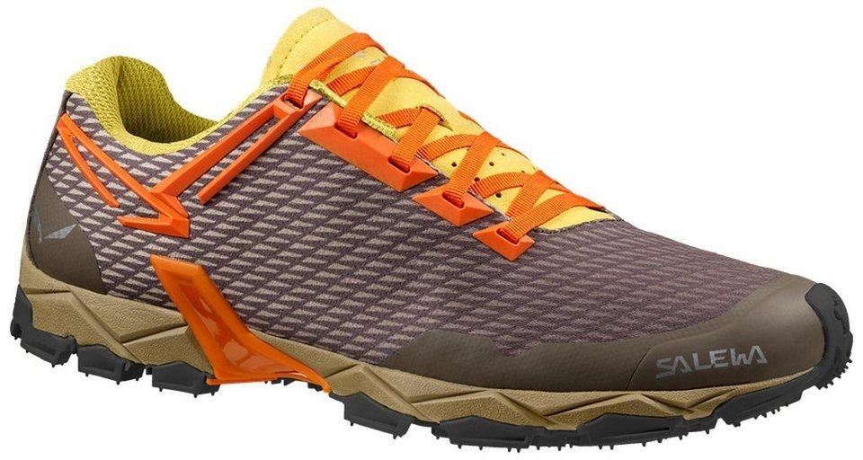 Salewa Runningschuh »Lite Train Trailrunning Shoes Men« in braun