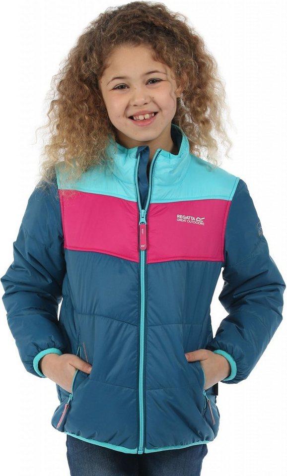 Regatta Outdoorjacke »Icebound II Jacket Kids« in blau