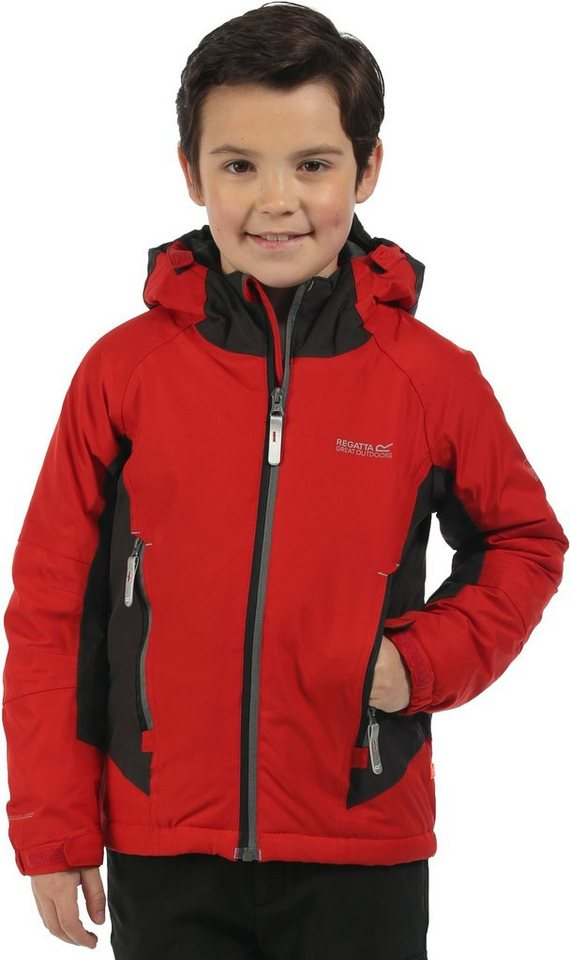 Regatta Outdoorjacke »Aptitude Jacket Kids« in rot