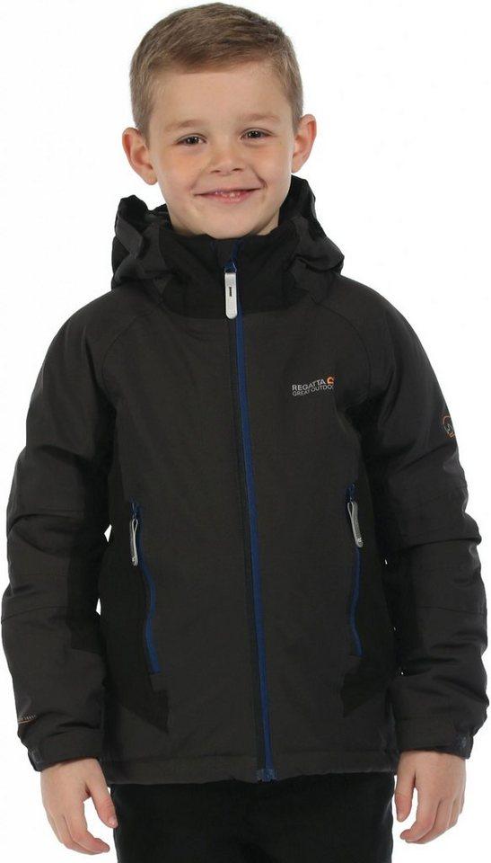 Regatta Outdoorjacke »Aptitude Jacket Kids« in grau