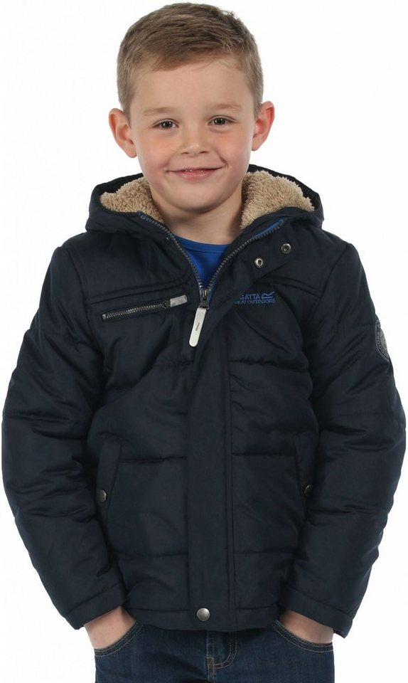 Regatta Outdoorjacke »Zipper II Jacket Boys« in blau