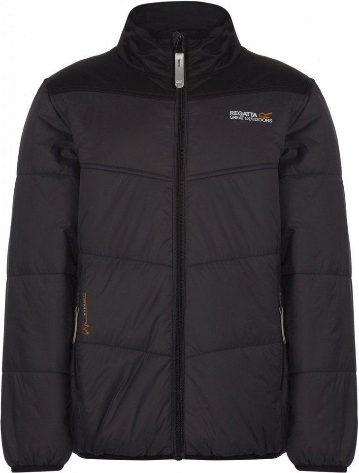 Regatta Outdoorjacke »Icebound II Jacket Kids« in grau