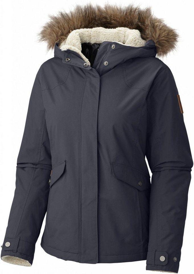 Columbia Outdoorjacke »Grandeur Peak Jacket Women« in grau