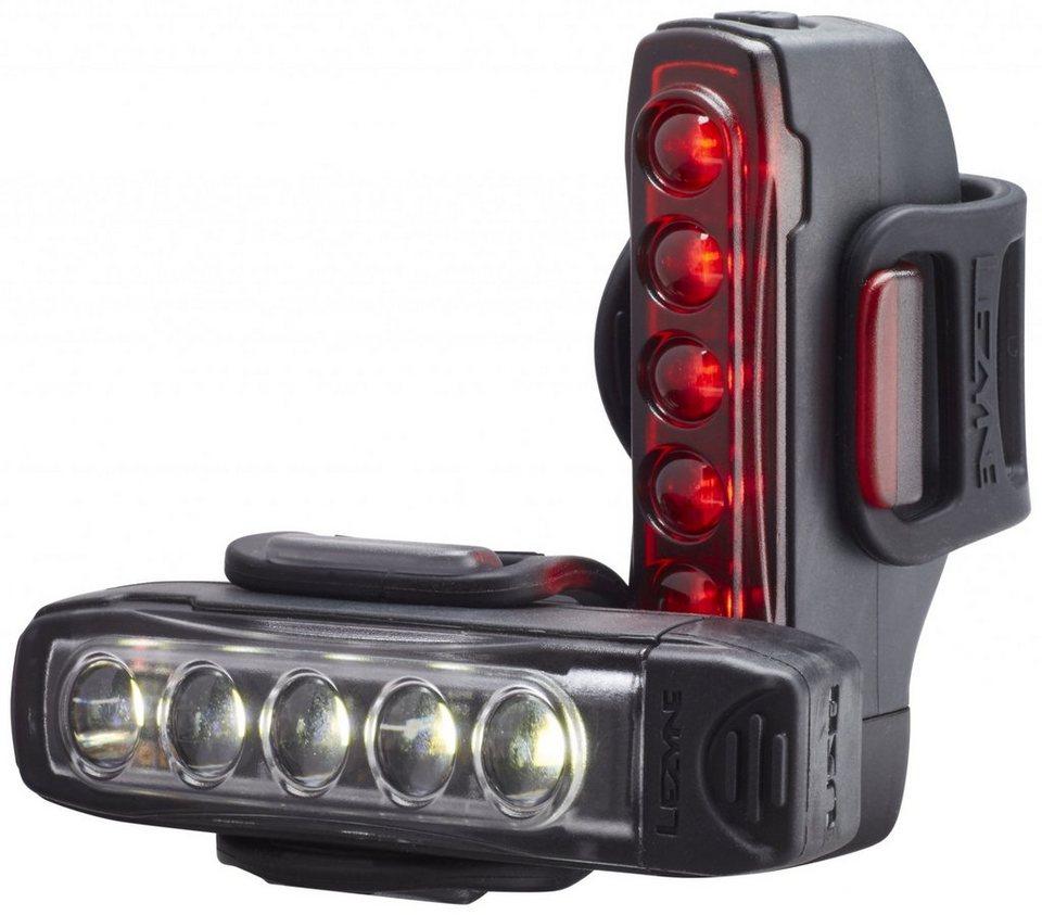 Lezyne Fahrradbeleuchtung »Strip Drive Beleuchtungsset«