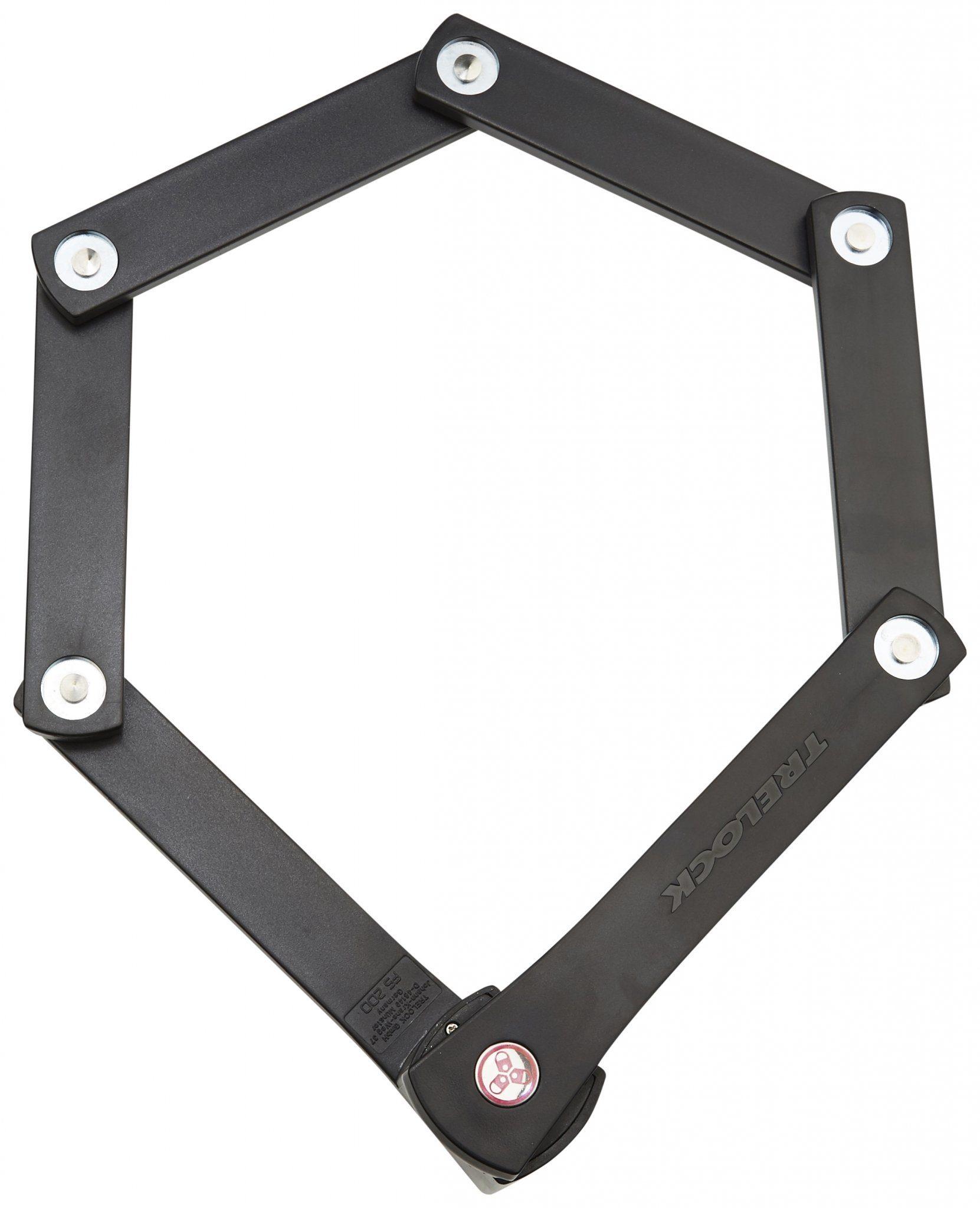 Trelock Fahrradschloss »Trelock FS 200/75 TWO.GO Faltschloss 75 cm«