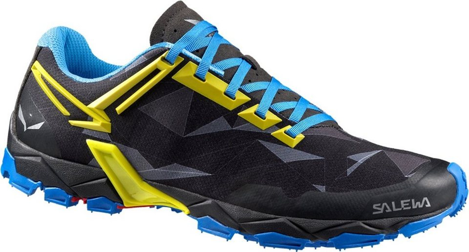 Salewa Runningschuh »Lite Train Trailrunning Shoes Men« in schwarz