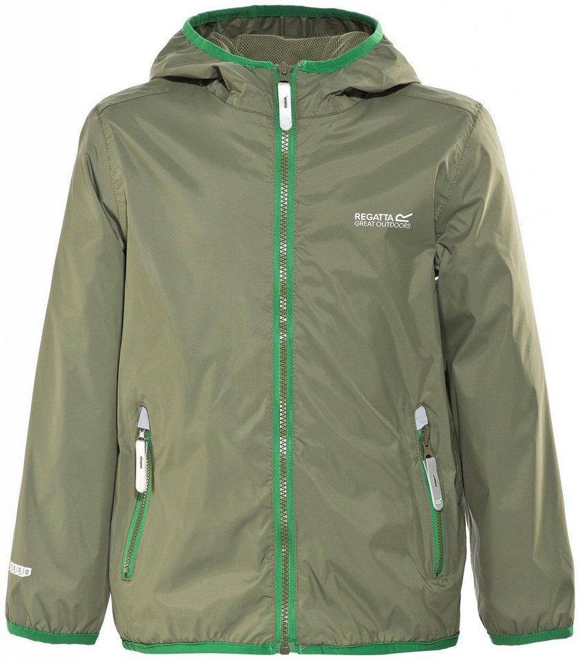 Regatta Outdoorjacke »Lever II Jacket Kids« in oliv