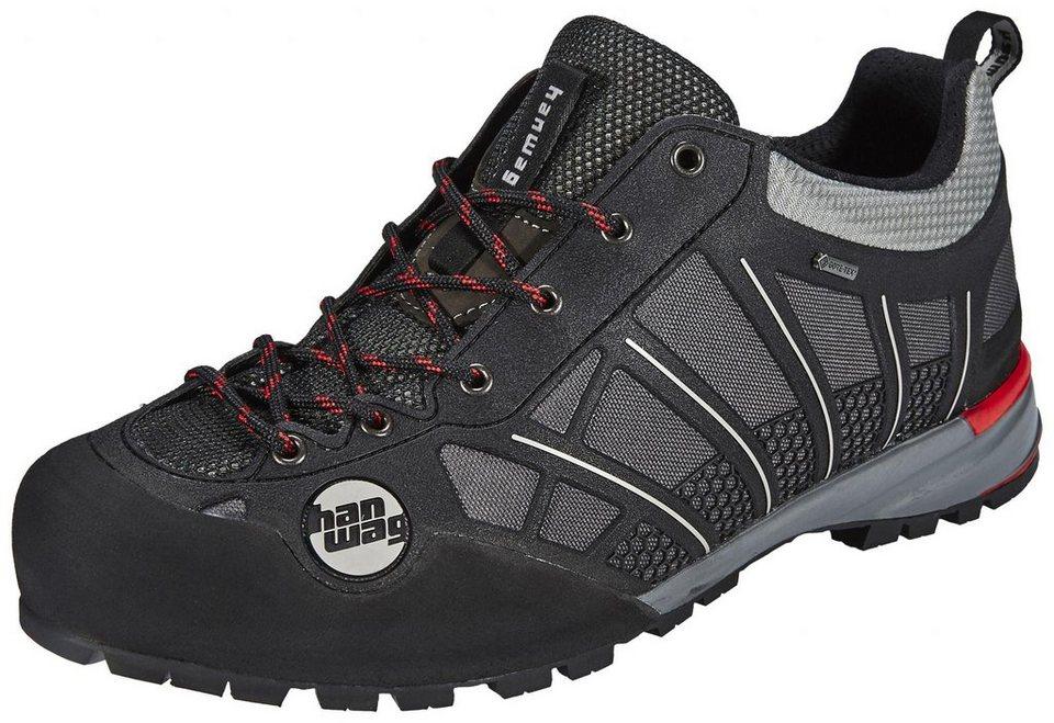 Hanwag Kletterschuh »Rock Access GTX Hiking Shoes Men« in schwarz