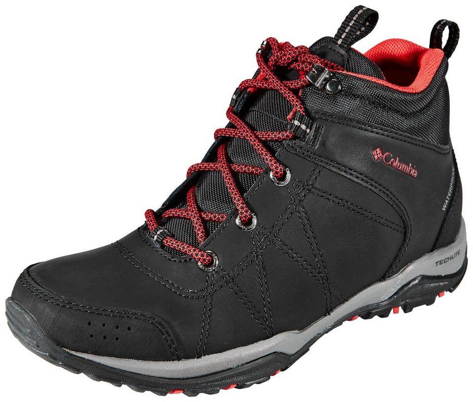 Columbia Kletterschuh »Fire Venture Shoes Women Mid WP« in schwarz