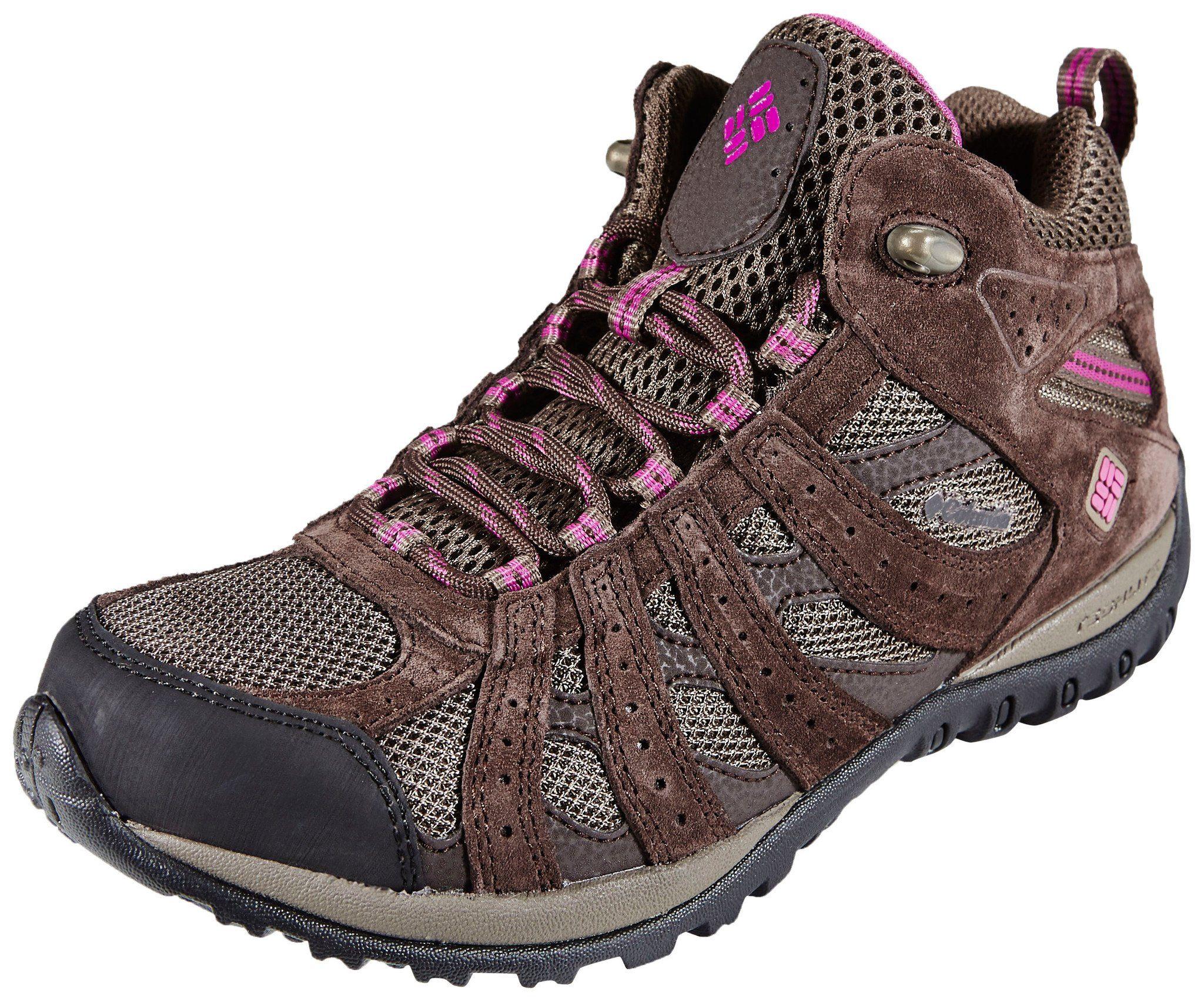 Columbia Kletterschuh »Redmond Shoes Women Mid WP«, braun, braun