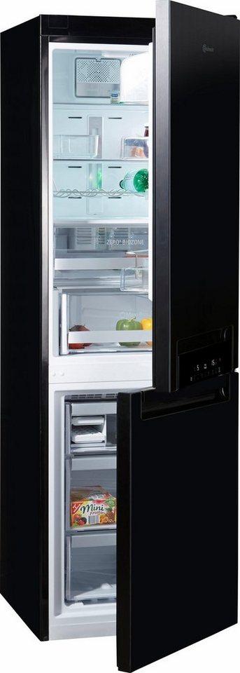 bauknecht k hl gefrierkombination kgnf 18 a3 connect energieklasse a 188 8 cm hoch. Black Bedroom Furniture Sets. Home Design Ideas