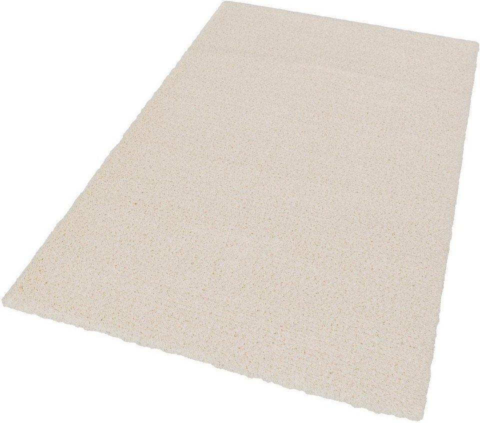 Hochflor-Teppich, Schöner Wohnen, »Energy«, Höhe 45 mm, gewebt, Wunschmaß in creme