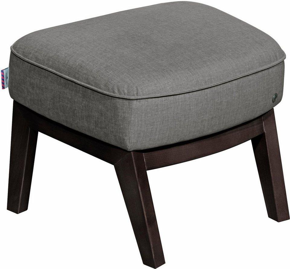 tom tailor hocker cozy im retrolook mit kedernaht f e wengefarben online kaufen otto. Black Bedroom Furniture Sets. Home Design Ideas