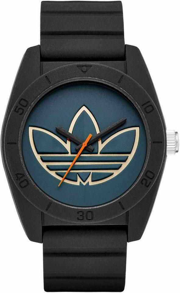 adidas Originals Quarzuhr »SANTIAGO, ADH3166« in schwarz