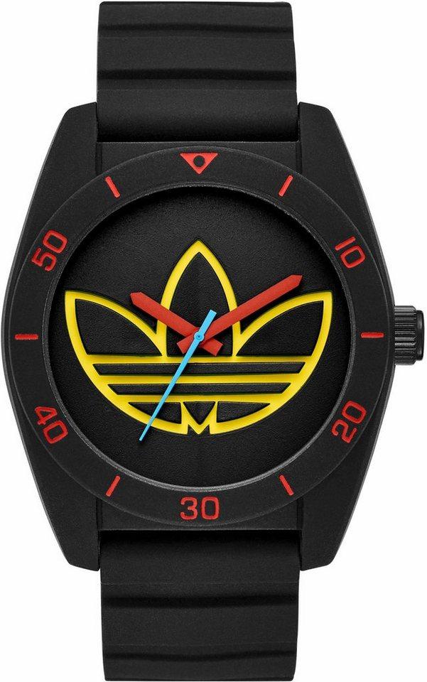 adidas Originals Quarzuhr »SANTIAGO, ADH3167« in schwarz