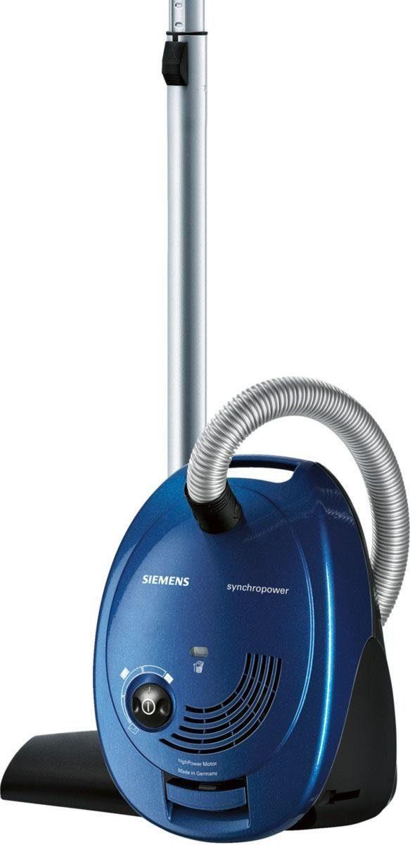 Siemens Bodenstaubsauger synchropower VS06B110, Energieklasse B
