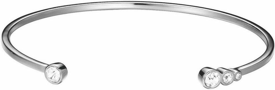 Esprit Armspange »ESPRIT-JW52887, ESBA01339A580« mit Strasssteinen in silberfarben