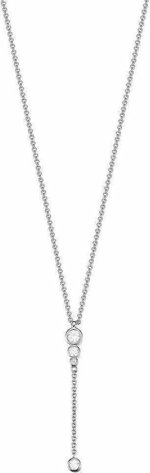 Esprit Silberkette »ESPRIT-JW52887, ESNL93628A420« mit Zirkonia in Silber 925