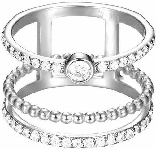 Esprit Silberring »ESPRIT-JW52892, ESRG92787A« mit Zirkonia in Silber 925