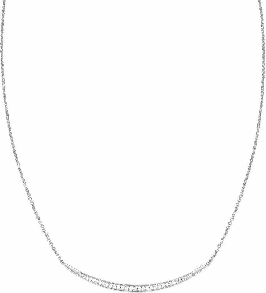 Esprit Kette ohne Anhänger »ESPRIT-JW52886, ESNL03626A420« mit Zirkonia in silberfarben