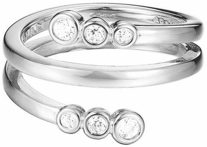 Esprit Silberring »ESPRIT-JW52887, ESRG92788A« mit Zirkonia in Silber 925