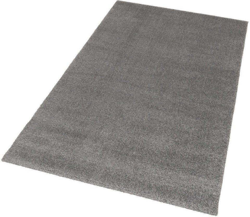 Teppich, Schöner Wohnen, »Melody«, gewebt, Wunschmaß in grau
