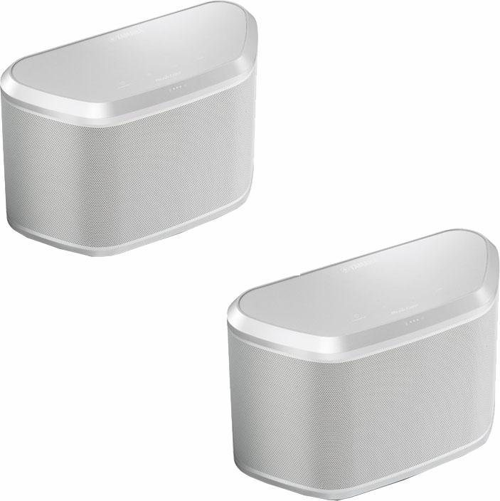 MusicCast Twin 030 2.0 Lautsprecher-Set (Multiroom, Bluetooth, WiFi, Spotify) in weiß
