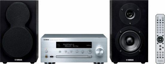 Yamaha »MCR-N470D« Stereoanlage (FM-Tuner mit RDS, Digitalradio (DAB), Internetradio, 44 W)
