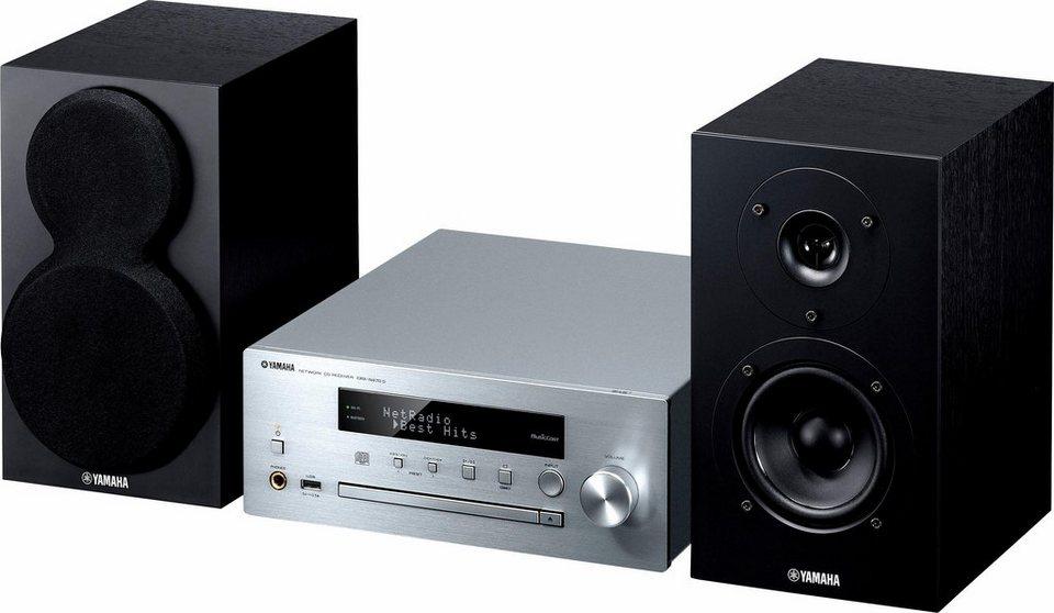 MusicCast MCR-N470D Stereoanlage, Spotify/Napster/Juke, Airplay, Bluetooth, WLAN in silberfarben
