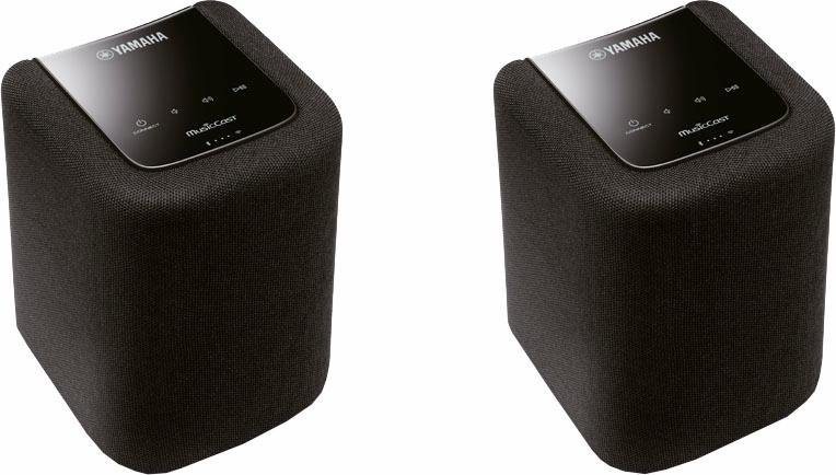 MusicCast Twin 010 2.0 Lautsprecher-Set (Multiroom, Bluetooth, WiFi, Spotify) in schwarz