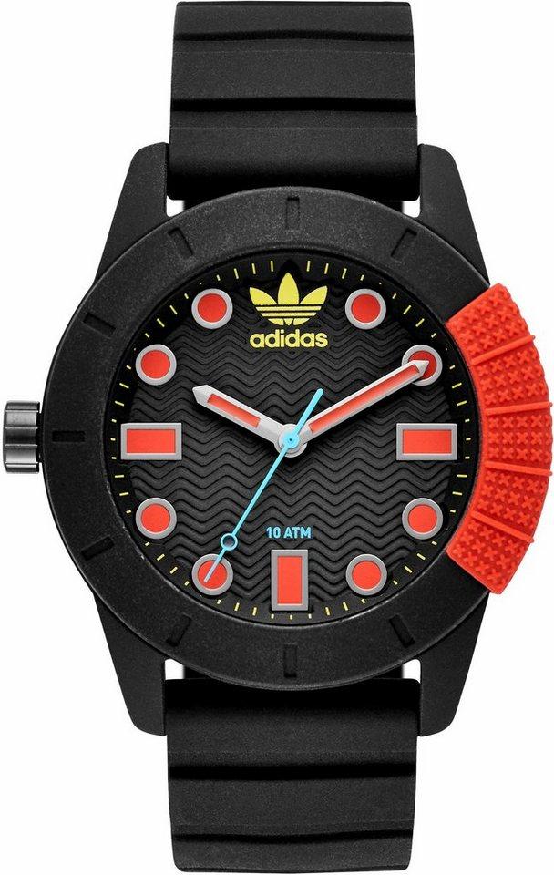 adidas Originals Quarzuhr »ADH-1969, ADH3176« in schwarz