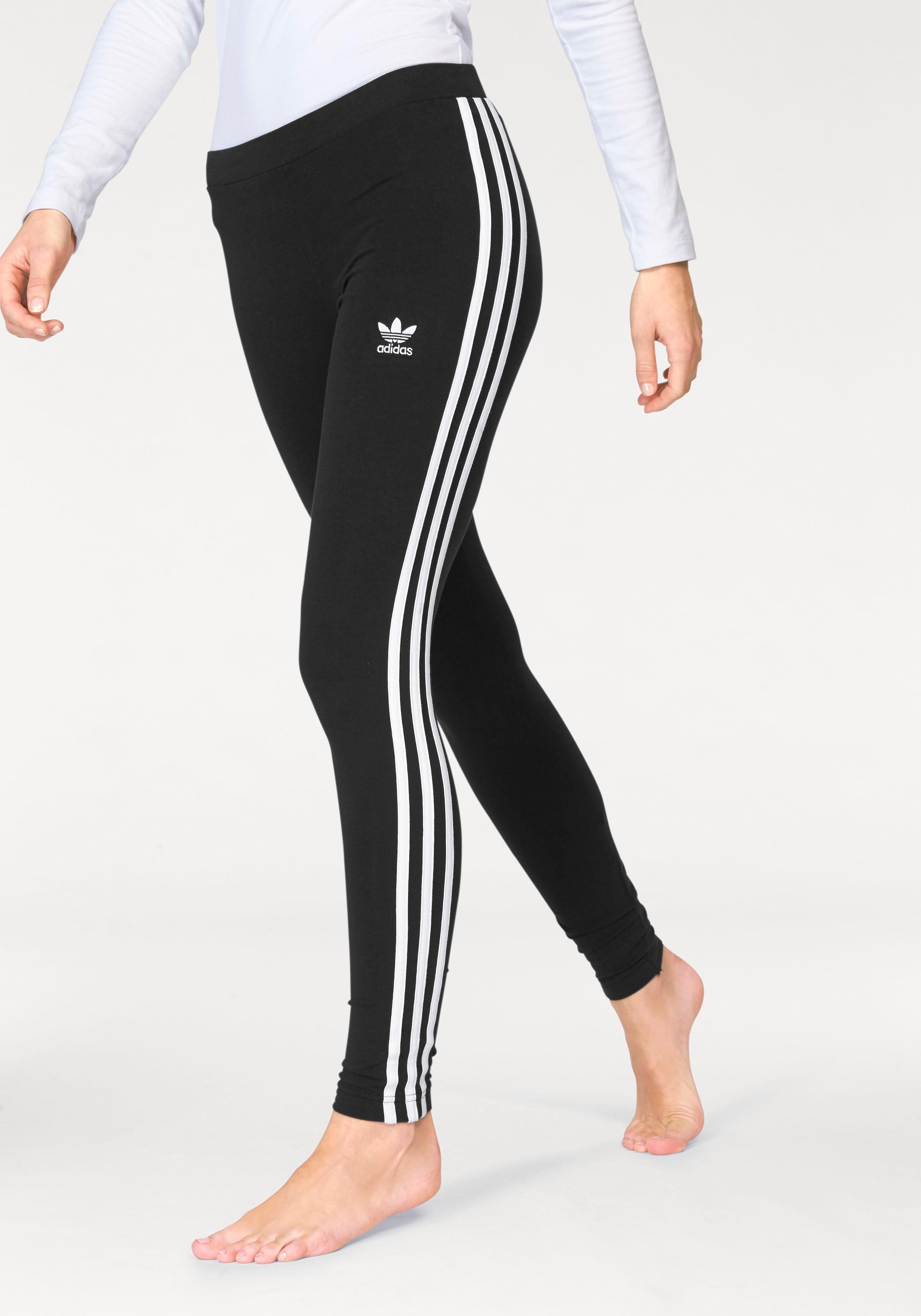 adidas originals damen leggings mit 3 streifen