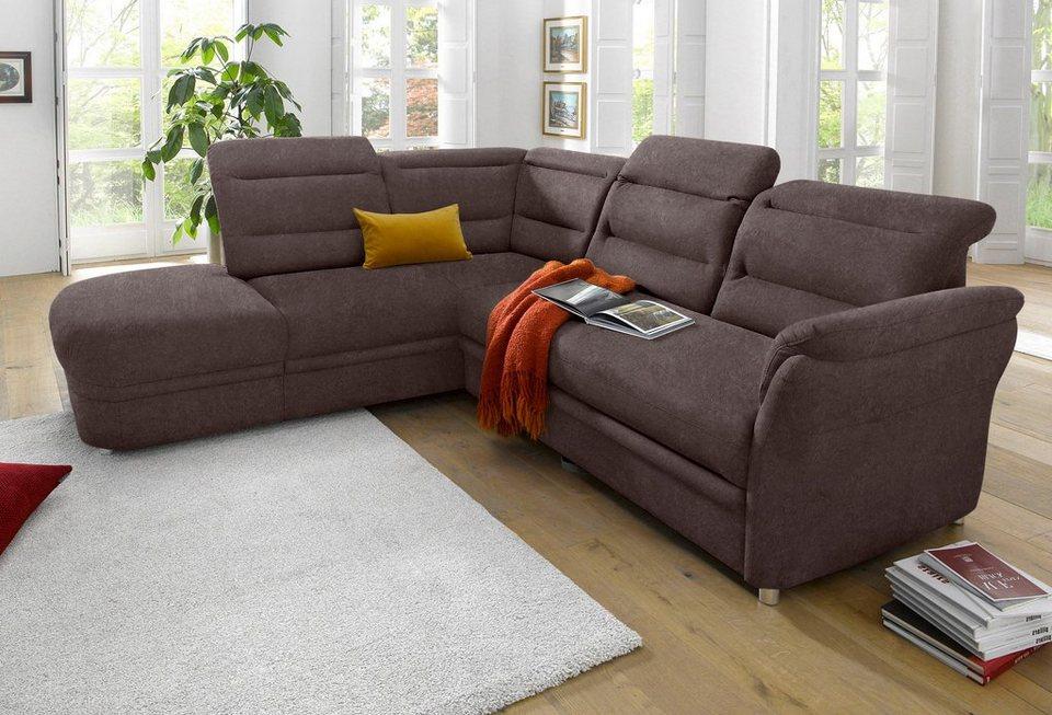 raum id polsterecke mit ottomane inklusive federkern online kaufen otto. Black Bedroom Furniture Sets. Home Design Ideas