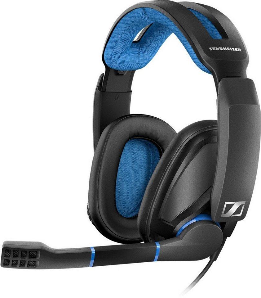 Sennheiser Gaming-Headset »GSP 300« in Schwarz-Blau