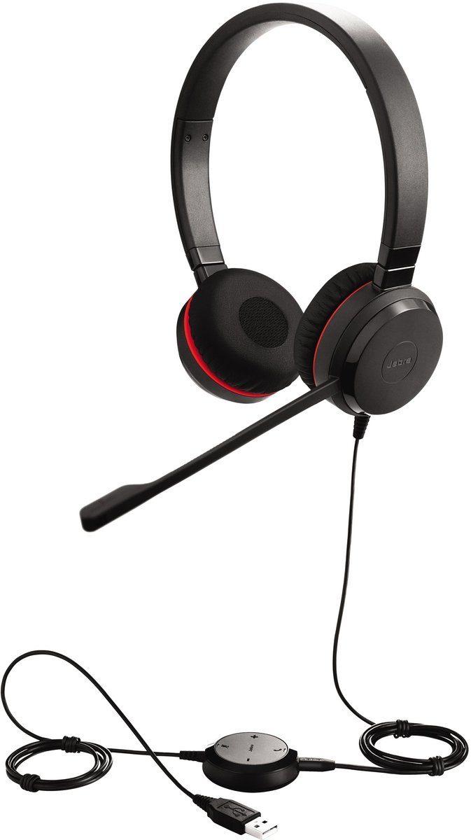 Jabra Headset »Evolve 30 II UC binaural USB«