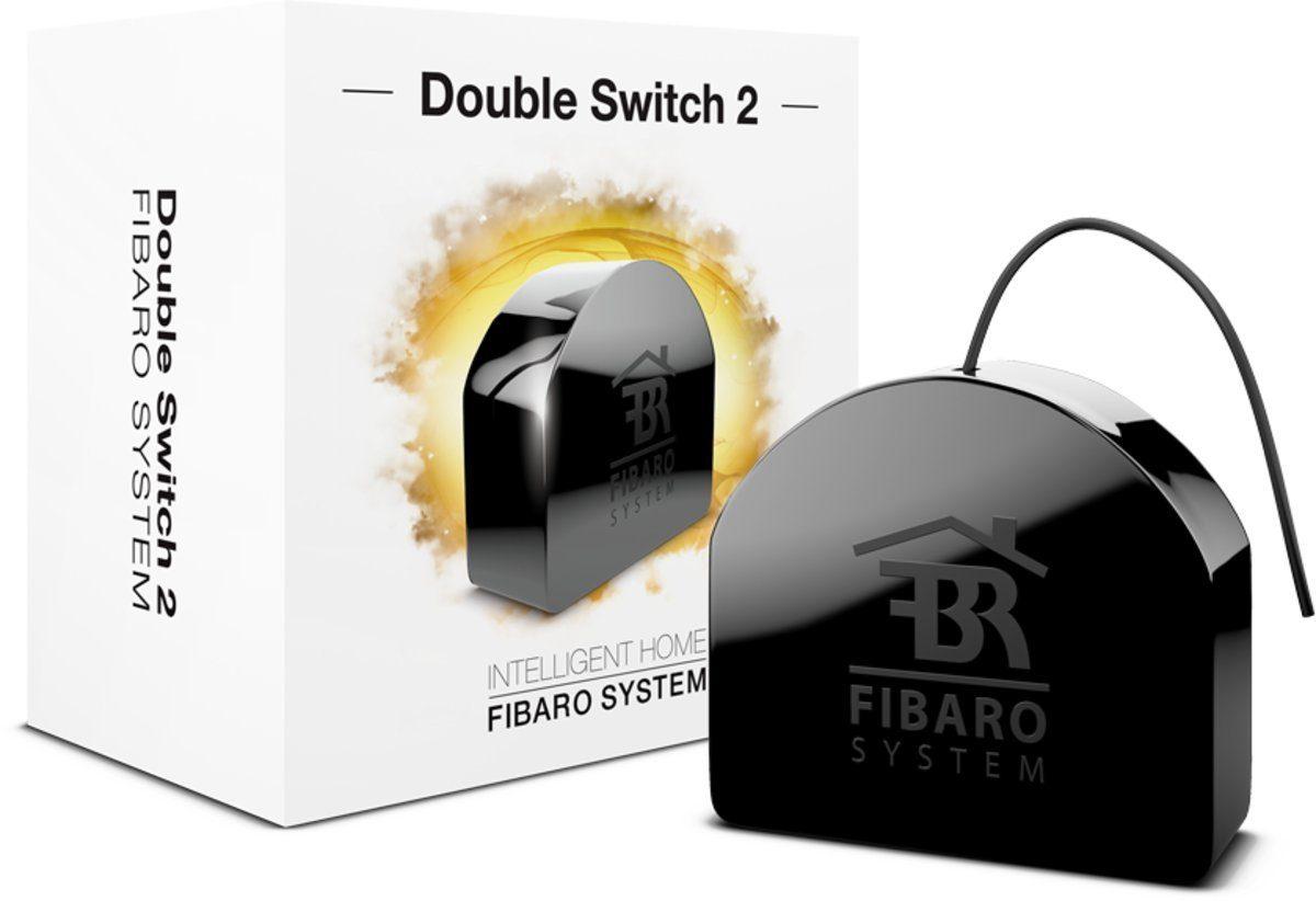 Fibaro Smart Home Zubehör »Relais Unterputzeinsatz 2 Schalter - Z-Wave«
